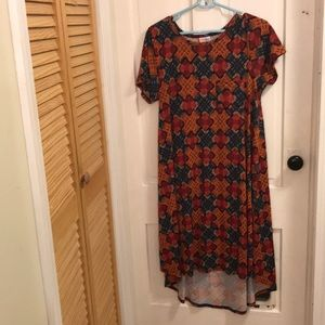 LuLaRoe Carly High-Low Swing Dress